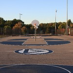 Outdoor Basketball Courts vertical view